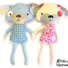 Dolls And Daydreams / Puppy Dog Sewing Pattern
