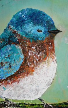 Easy Acrylics Painting For Beginner | with oil paints -and my DecoArt acrylic paints.