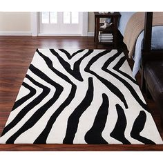 Captivating Zebra Prints For Wild And Sleek Interior Design : Make Your Bedroom More  Beautiful With This Zebra Print Carpet And Put This On Your Floor Great Ideas
