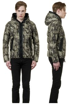 Celtodue jacket #duvetica #camouflage #menswear #jacket #downjacket #fallwinter
