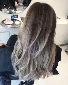 Balayage grey Annet