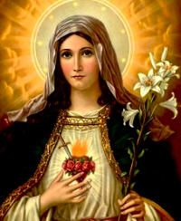 June 16th  Immaculate Heart of Mary memorial