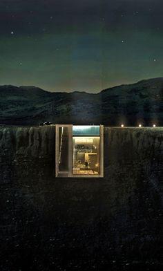 Greek Underground Cliff House by Open Platform for Architecture 9