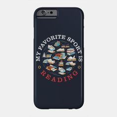 My Favorite Sport is Reading - Reading - T-Shirt | TeePublic.  Shout out to sport lovers with this perfect My Favorite Sport is Reading design. Explore your favorite library or bookstore for a unique read. A great design for the book nerd or bookworm reader. Spend memorable time with the storyteller in your life. Book Nerd, Shout Out, The Book, Book Worms, Storytelling, How To Memorize Things, Hobbies, Lovers, Phone Cases