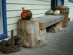 Rustic Log Furniture: The Magic of Wood Outdoor Projects, Garden Projects, Wood Projects, Into The Woods, Log Furniture, Outdoor Furniture, Outdoor Decor, Furniture Ideas, Backyard Furniture