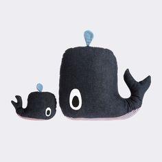 Kissen - Kinder - Wal - Ökologisch - Dänish Design