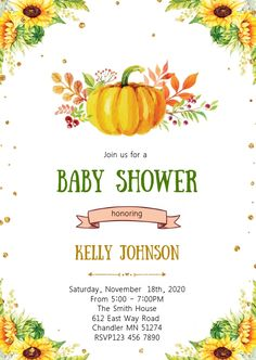 Customize this design with your video, photos and text. Easy to use online tools with thousands of stock photos, clipart and effects. Free downloads, great for printing and sharing online. A6. Tags: fall / autumn, sunflower baby announcement, sunflower baby shower, sunflower bbq birthday invitation, sunflower bridal shower invitation, Birthday, Party Flyers, Thanksgiving , Birthday Invitation