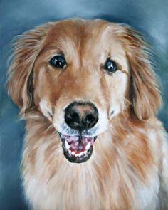 Art, Oil Painting, Pet Portrait, Portrait Commission, Animal Portrait, 8x10 on Etsy, $115.00