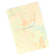 Marbled Notebook 1 // The Knew New