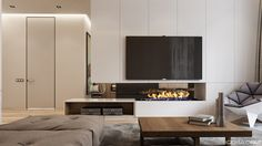 Apartment in Fountain Boulevard Complex on Behance