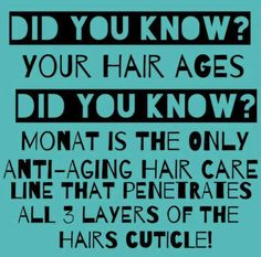 Skin Care For Aging Skin Monat is the only anti aging hair care on the market the penetrates all 3 layers of the hair follicles. Feel the difference for yourself. Anti Aging Tips, Anti Aging Skin Care, Natural Skin Care, Natural Hair, My Monat, Monat Hair, Acne Face Wash, Hair Care Tips, Hair Tips