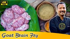This recipe is about goat brain fry Recipes In Tamil, Indian Food Recipes, Indian Foods, South Indian Food, Fennel Seeds, Curry Leaves, Lamb, Goats, Fries