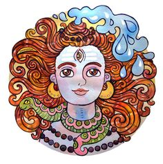 Samarskaya Milana; Shiva