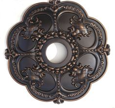 Hand Painted Decorative Ceiling Medallion Finished in Antique Bronze 18 Inch - ROTHERHAM >>> Hurry! Check out this great product (This is an amazon affiliate link. I may earn commission from it)