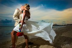 Stunning wedding photo by Sarani Photography Mexico taken at Playcar Palace