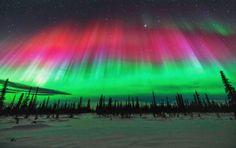 Bildergebnis für alaska nordlichter