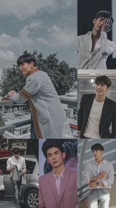 Cute Asian Guys, Cute Actors, Thai Drama, Kawaii Wallpaper, Asian Actors, Homescreen, Asian Men, My Boyfriend, Actors & Actresses