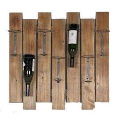 wine bottle wall hanger | Bottle Wall Hanging Wine Rack !!! | Trade Me