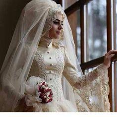 wedding dress muslim hijab tesettür gelinlik