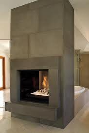 Concrete fireplace surround   My Concrete   Pinterest   Concrete ...