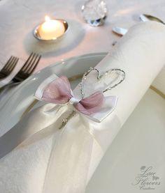 Giarrettiera Azzurra Fiocco e CUORI silver Tradizione Matrimonio Sposa CUORE