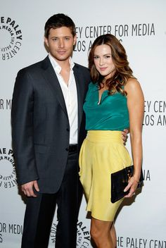 Pin for Later: It's Ridiculous How Hot Jensen Ackles and Danneel Harris Are Together  The pair brought their hot looks to a PaleyFest event in March 2011.