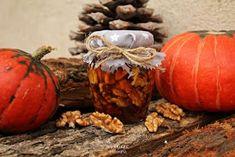 de la Mejika: Ořechy v medu Kefir, Pumpkin, Vegetables, Food, Pumpkins, Essen, Vegetable Recipes, Meals, Squash