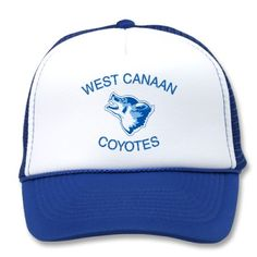 West Canaan Coyotes Mesh Hats from http://www.zazzle.com/west+canaan+coyotes+hats