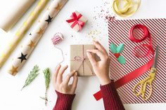 Gift Wrap for Christmas & New Year Idea – Free Image by rawpixel.com