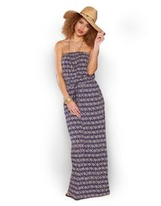 98ac81a6a Accessorize Womens Ikat Maxi Size X Small Blue Accessorize.  68.00