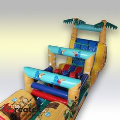 With our inflatable games you will 'wow' your clients and provide them with many hours of fun and entertainment! Inflatable Bounce House, Inflatable Slide, Logo Shapes, Bouncy Castle, Indoor Playground, Design Your Own, Playroom, Things That Bounce, Balloons