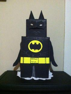 Black Batman Valentine Box
