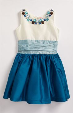 Zoe Ltd Party Dress (Big Girls) available at #Nordstrom   Girls clothes are so cute!