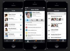 LinkedIn nurtures professional relationships with Contacts app