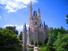 One of the BEST views of Cinderella's castle.
