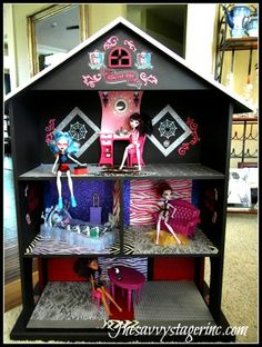 Make your own Monster High House!