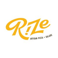 Rize Artisan pizza fast casual restaurant branding