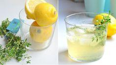 Tymiánová limonáda s citronem