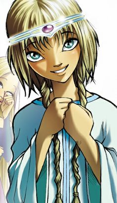 Elyon from W.I.T.C.H., Disney this was my first magazine, I love it!