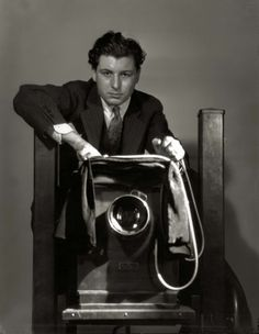 George Hurrell self portrait; courtesy of Pancho Barnes Trust Estate Archive,© Estate of George Hurrell.