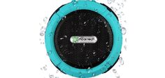 Mooi Tech Waterproof Shower Speaker is the best and reliable bluetooth speaker. great in desind and rich in features, it produces loud and clear music. take music with you.