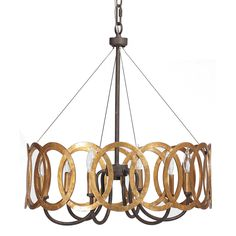 for Kitchen Table?  The black iron goes with new door hardware, the gold goes with formal brass entry fixtures.  Could be a good fit! Gabby Lighting Virginia Chandelier @Layla Grayce