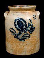 HARRINGTON & BURGER / ROCHESTER Stoneware Jar