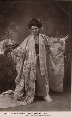 Pauline Chase as Geisha - Little Japanese Girl