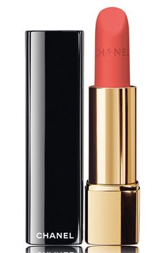 Some of the prettiest new bright matte shades I've seen in awhile. I have two of these and LOVE them! CHANEL ROUGE ALLURE VELVET LUMINOUS MATTE LIP COLOR @ #Nordstrom