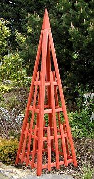 """Arboria Pyramid Trellis 81"""""""" Cedar 860.1074"""