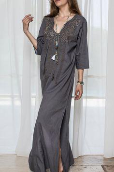b987f172b2f6d Shoptiques Product: Dreamy Maxi - main Kaftans, Cold Shoulder Dress,  Caftans, Kaftan