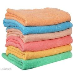 Hand & Face Towels Cotton Hand Towels Multi Colors Set of 6  Material : Cotton Size ( L X W ) : 14 in X 20 in  Description : It Has 6 Pieces Of Hand Towel Pattern : Solid Country of Origin: India Sizes Available: Free Size   Catalog Rating: ★4.1 (1417)  Catalog Name: Urban Finesse Cotton Hand Towels Vol 19 CatalogID_420482 C71-SC1113 Code: 362-3070983-225