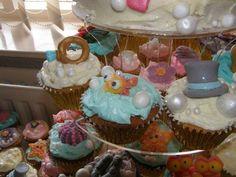 Disney wedding cake detail