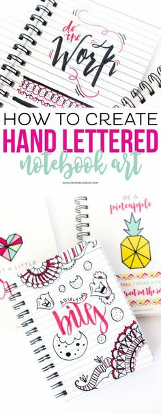 Learn to create beautiful Hand Lettered Word Art with these simple steps. You can include hand lettered art in your scrapbooks, journals and planners, for a unique and customized looks. You'l…